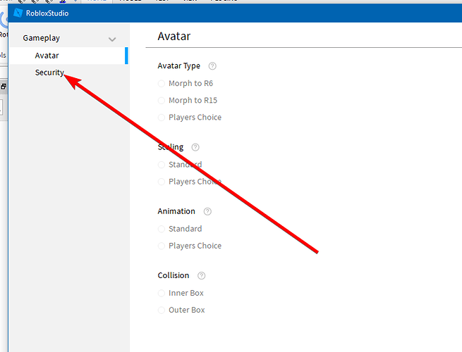 Service button is grayed out? - Studio Bugs - Roblox