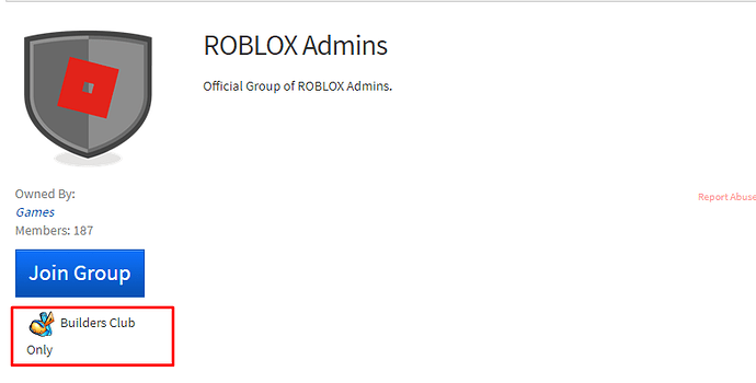 Removal Of Builders Club Only Games Announcements Roblox