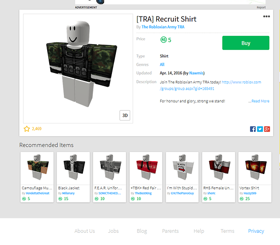 Roblox Copy And Paste Outfits Policy Suggestion Copying Clothing For Sale Be Against The Rules Website Features Roblox Developer Forum