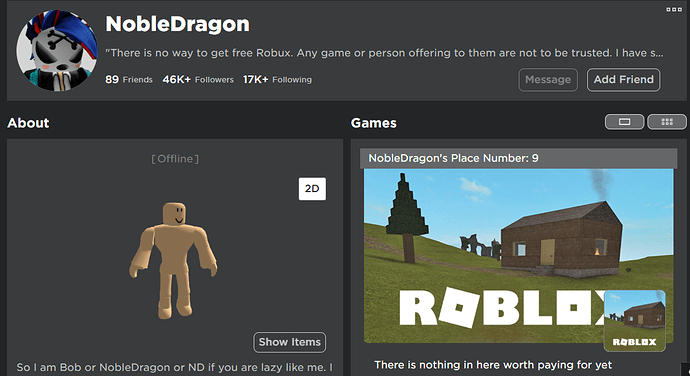 Nobledragon S 3d Avatar Preview Is Incorrect Website Bugs