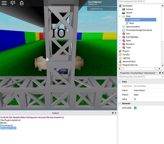 Value Changed Only Working In Client Scripting Support Roblox