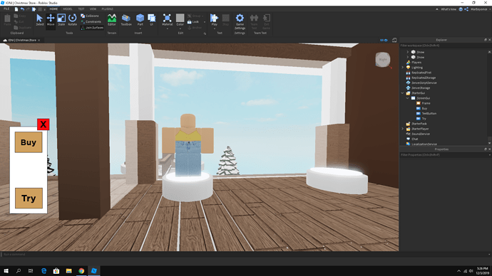 Gui Help Clothing Try And Buy Scripting Support Roblox