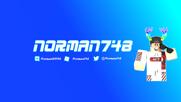 Norman748 - YouTube Banner