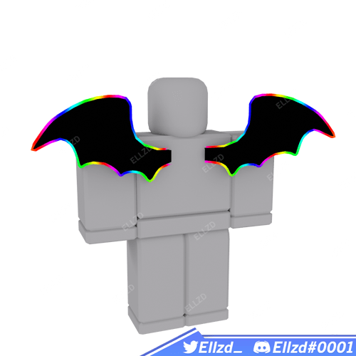 Cartoony Devil Wings