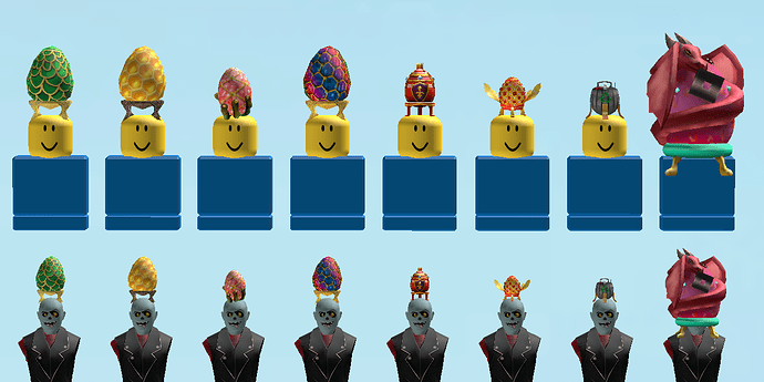 How To Get The Thanos Infinity Gauntlet Egg Roblox Egg Fitting Issues With Egg Hunt 2019 Catalog Assets Website Bugs Roblox Developer Forum