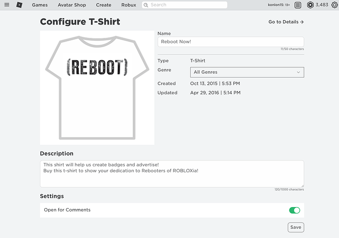 Can Not Change Price Of Existing T Shirt In Safari Because The