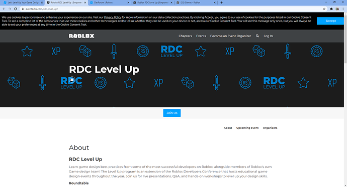 Roblox RDC Level Up _ Empowering creator engagement through increased collaboration and knowledge - Google Chrome 2_17_2021 1_49_53 PM
