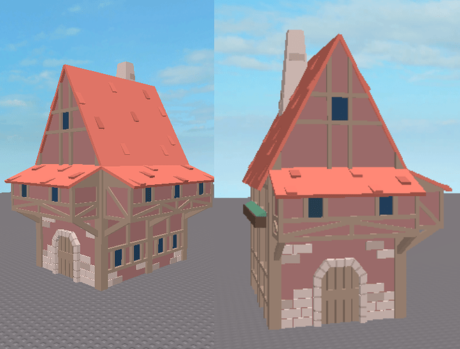 Rate My Low Poly Speed Build Building Support Roblox