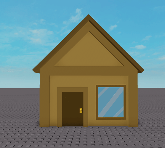 Roblox Log Cabin Feedback On Small Low Poly Cabin Cool Creations Roblox Developer Forum