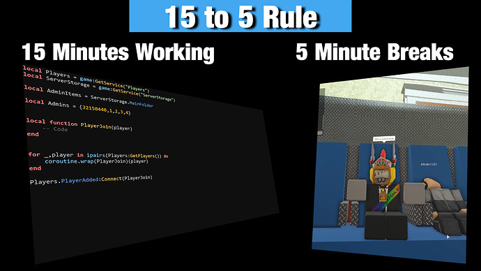 15 to 5 Rule