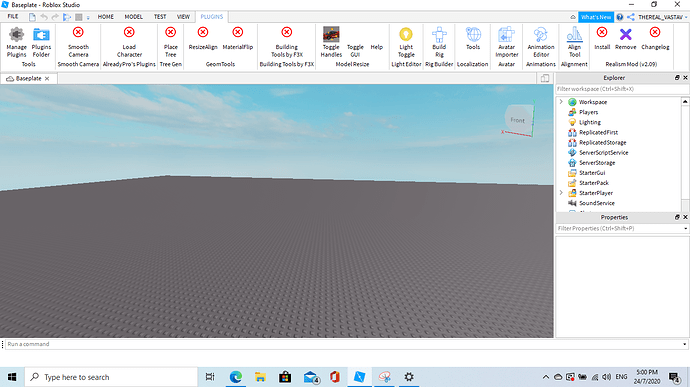 Roblox Studio Plugins For Building What Plugins Should I Have Building Support Roblox Developer Forum