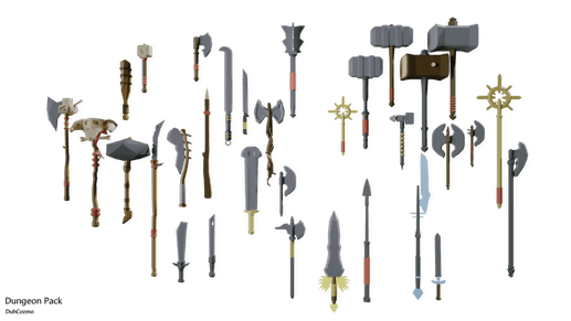 Low-Poly Dungeon Pack