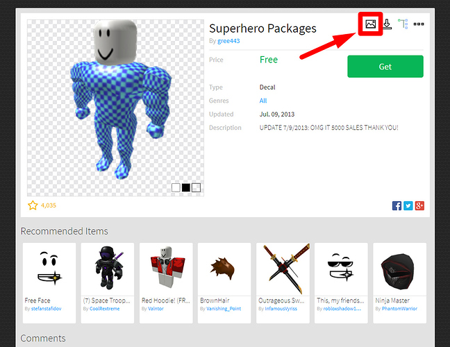 roblox decal asset id