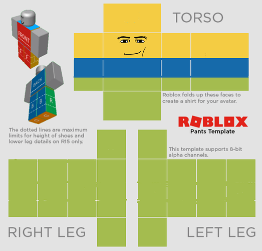 I Can T Upload A Pants Art Design Support Roblox Developer Forum