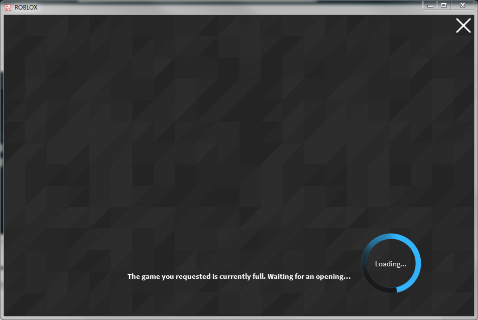 Dont Open The Roblox Game Window Until The Game Is Not Full - you joined the game roblox