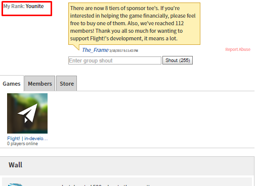 Can't post on group walls? - Web Bugs - Roblox Developer Forum
