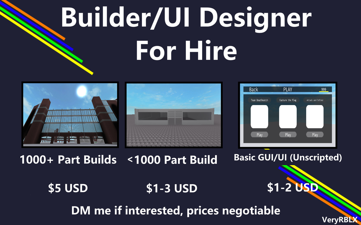 Developers For Hire Roblox