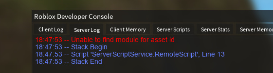 Ambiguous functionality Private Modules - Scripting Support