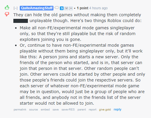 Further Changes To Playing Ability Of Experimental Mode -