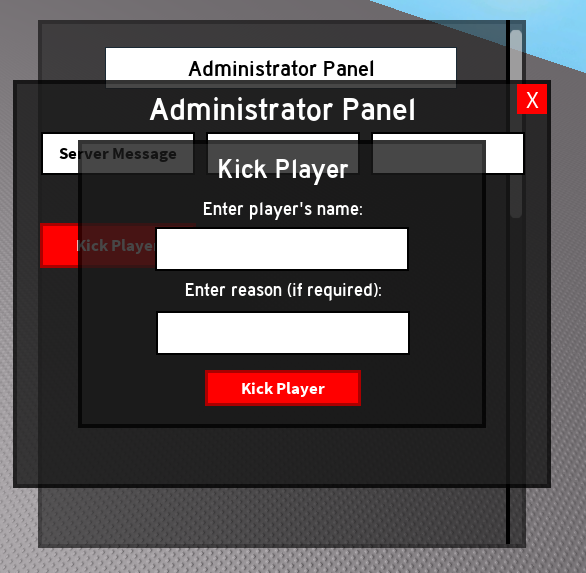 Kick/Ban GUI issues - Scripting Support - Roblox Developer Forum