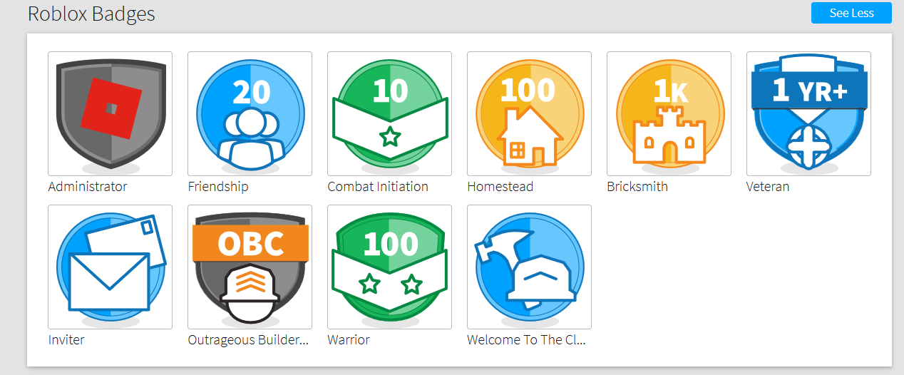 Make A Friendlier Administrator Badge Website Features - roblox administrator accounts