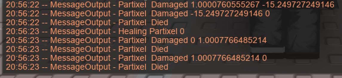 Health script attempts to heal character after death ( Causes triple