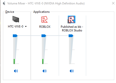 Roblox always tries to play sound through vive - Engine Bugs