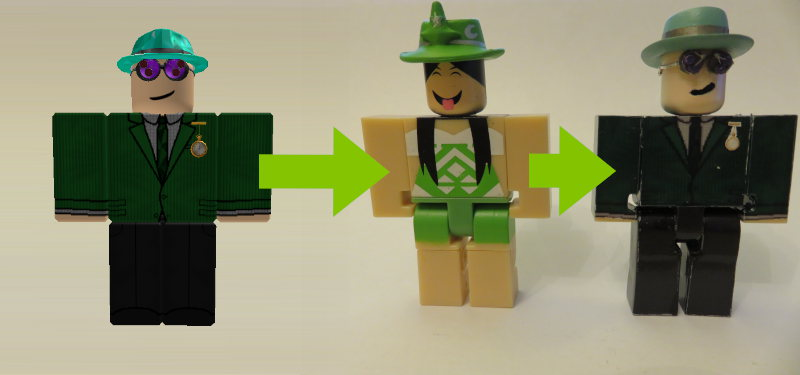 How To Customize Roblox Toy Figures To Your Own Character - lego roblox characters
