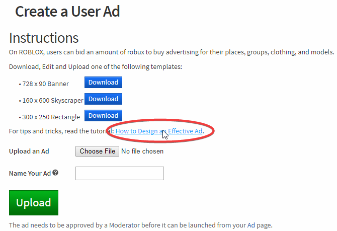 Advertisement Page Links To An Empty Wiki Page Website - developer wiki roblox