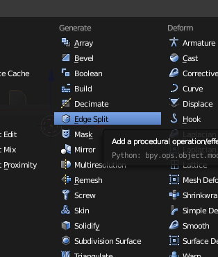 Blender Tip: Auto Smooth instead of Edge Split Modifier