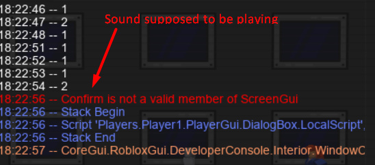Not A Valid Member Situation Scripting Support Roblox