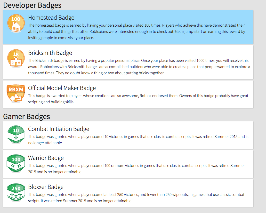 More Verified Roblox Badges - Web Features - Roblox