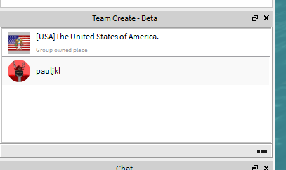 Team Create Does Not Allow Users To Be Added Since It Is A Group
