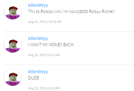 Do something to stop comment spam - Web Features - Roblox