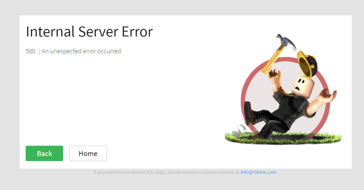 Internal Server Error 500 When Anyone Tries To Access My Group