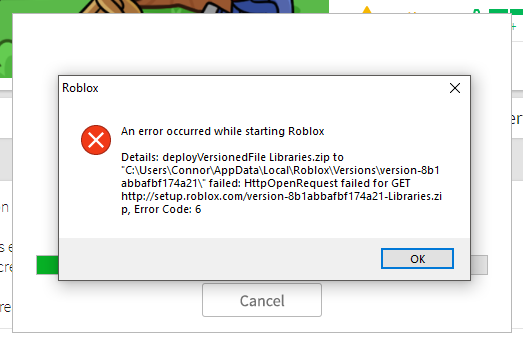 An Error Occured While Starting Roblox Website Bugs - videos matching roblox how to fix roblox if you cant join