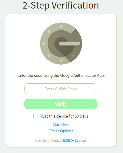 Google Authenticator / Authy for Account login verification method