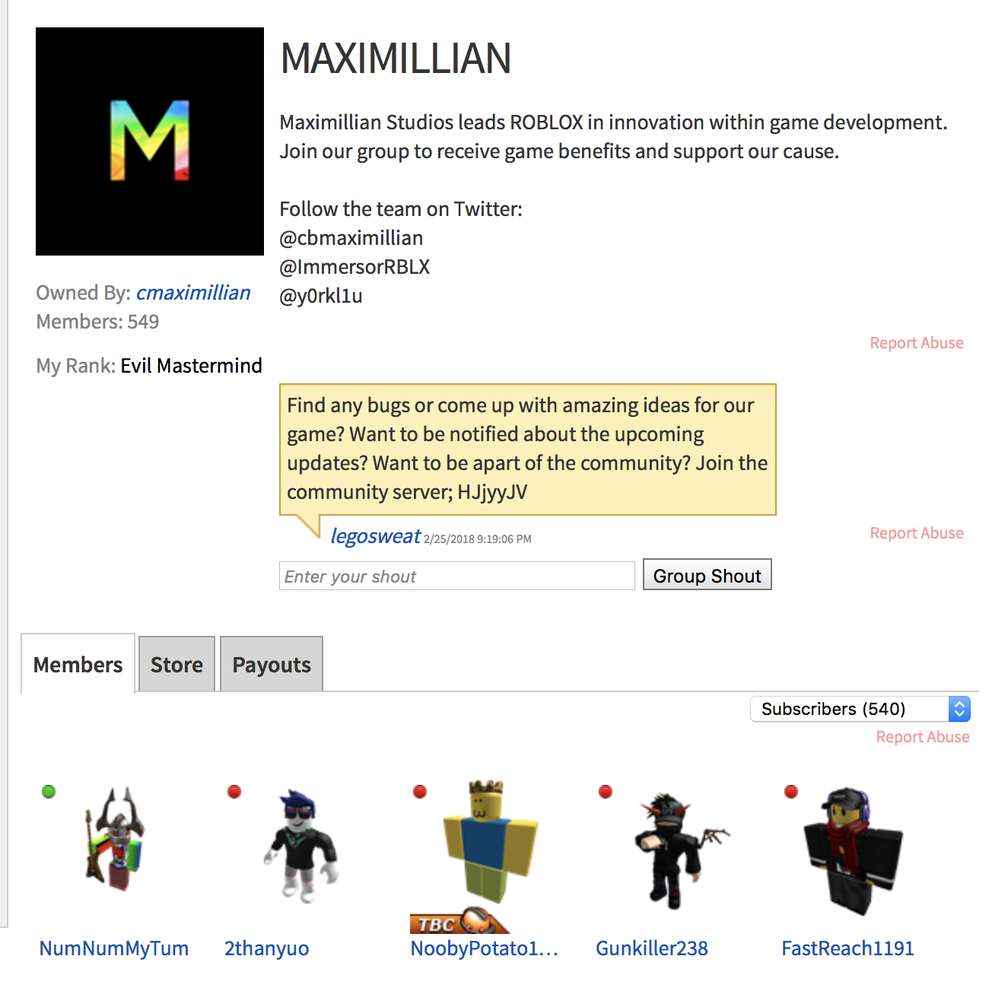 Games Not Showing Up In My Group Art Design Support Roblox