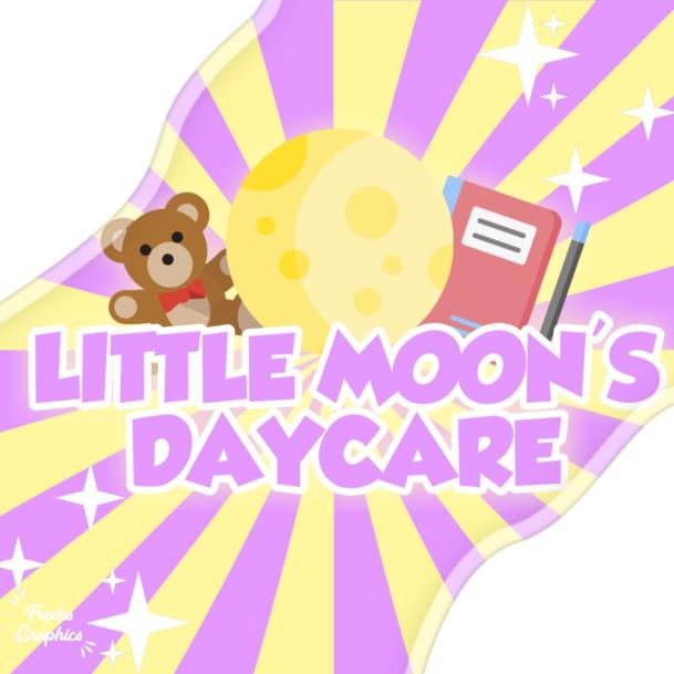Little Moonies Daycare Logo