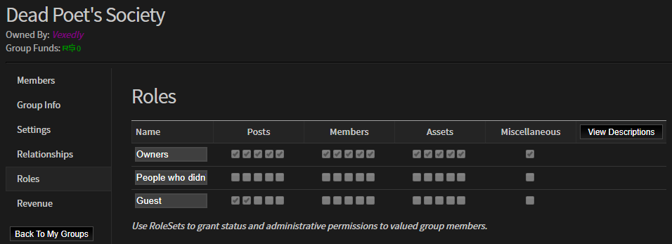 200 people now own my group with higher permissions than me