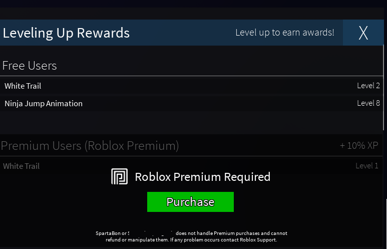 Roblox Premium Only Features In Game Game Design Support