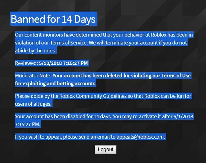 Roblox's Moderation Needs To Be Fixed - Web Features - Roblox