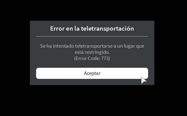 teleport without error