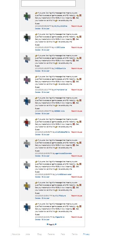 Bots For Roblox Groups Group Wall Filter System Website Features Roblox Developer Forum