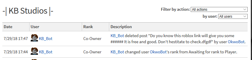 Scam Remove Bot - Community Resources - Roblox Developer Forum