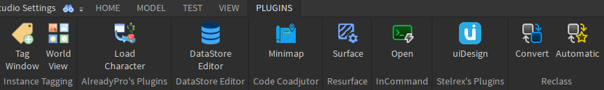 Plguins as of 5.18.2021