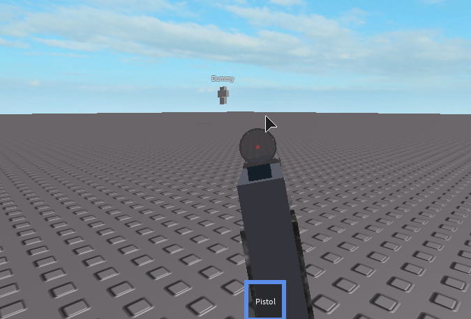 Roblox Studio First Person Arms How To Make An Aim Able Gun Scripting Support Roblox