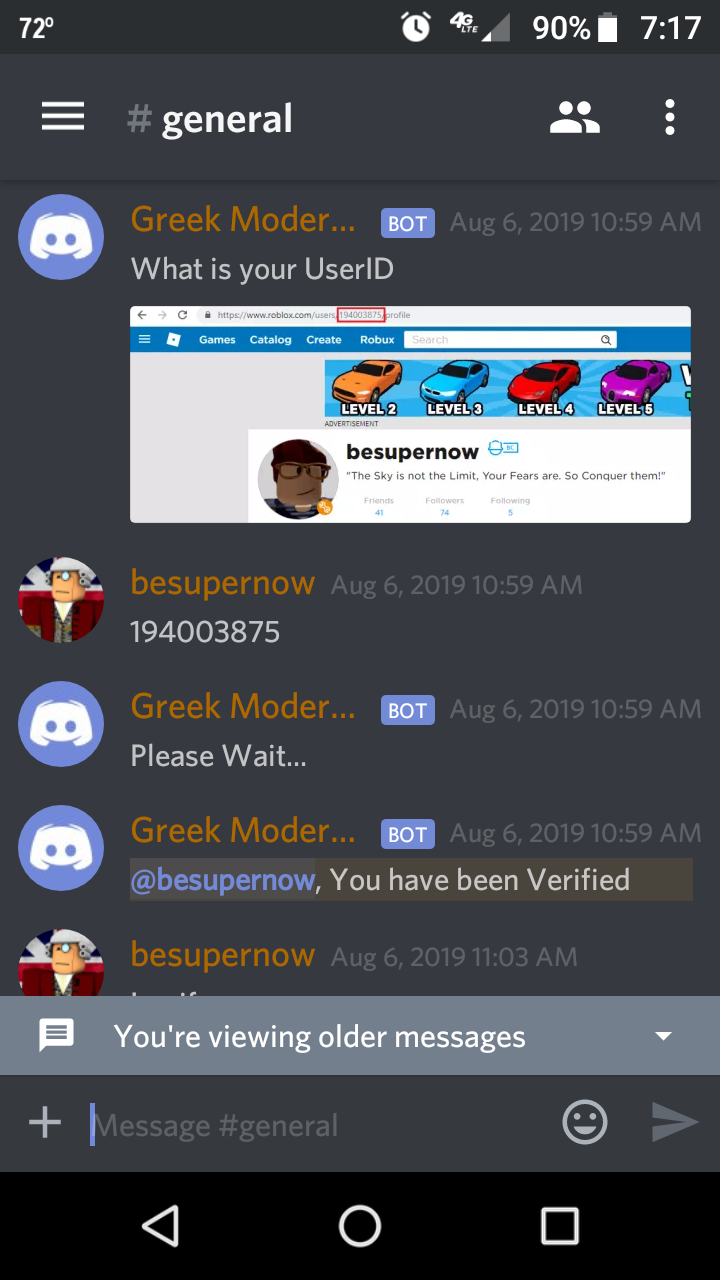 Roblox Scripters Discord Free Robux Codes No Verification - roblox game guardian bloxburg free robux codes giveaway 2019