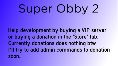 lol ad try my obby roblox Feedback On My Obby Cool Creations Roblox Developer Forum