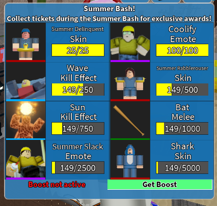 Roblox Arsenal Gun Skins Arsenal Summer Update 2 7 Bulletin Board Roblox Developer Forum